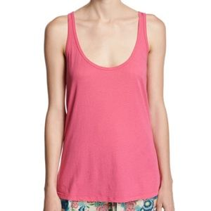 Johnny Was Cotton Modal Scoop-Neck Tank XLarge NWT